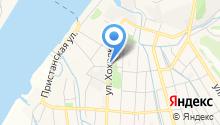 Магазин сельхозпродуктов на ул. Хохрякова на карте