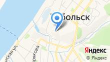 Тобольский историко-архитектурный музей заповедник на карте