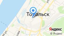 Кремль на карте