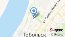 Возрождение Тобольска на карте