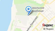 Березка на карте