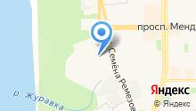Сибирская Модница на карте