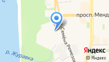 Газпром межрегионгаз Север на карте