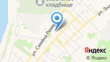 Ладошка на карте