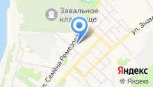 Автолуч на карте