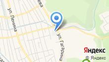 Дорожно-эксплуатационный участок, МУП на карте