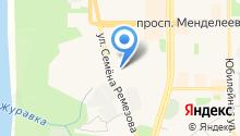 Вечернее (сменное) общеобразовательное учреждение на карте