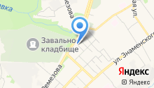 Мини-гостиница на ул.С.Ремезова 84 на карте