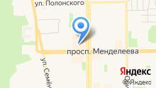 Burger`s house на карте