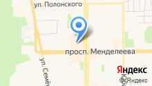 Серебро России на карте