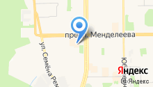 Басов на карте