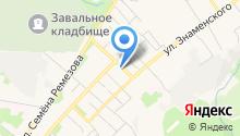 Сеть магазинов по продаже памятников на карте