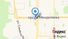 Компания ТрансТелеКом на карте
