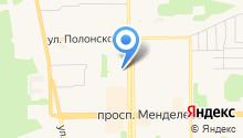 Отдел ГИБДД г. Тобольска на карте