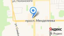 Дом кухни на карте