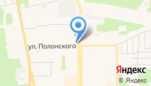 Магас на карте