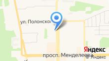 Сибирский банк реконструкции и развития на карте