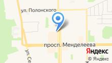 KristiAl' - Ателье по пошиву и ремонту одежды в Тобольске. на карте