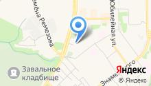 Отделение в г. Тобольске регионального управления ФСБ России по Тюменской области на карте