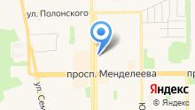 О`кейс на карте