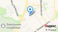 Книжный магазин на ул. 4-й микрорайон на карте