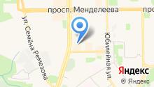 Продуктовый магазин на ул. 8-й микрорайон на карте