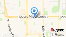 Магазин детской одежды на ул. 8-й микрорайон на карте