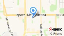 Комитет по управлению имуществом администрации г. Тобольска на карте