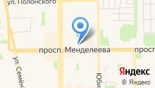 Почтовое отделение №8 на карте
