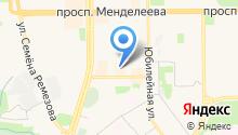 Магазин радиотоваров на ул. 8-й микрорайон на карте