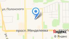 Антикор-М на карте