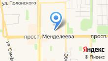 Банкомат, Сибнефтебанк на карте