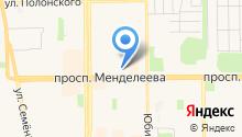 Unichel на карте