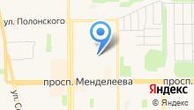 Кадастровый инженер Ращупкин А.Ю. на карте