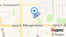 Магазин верхней одежды на ул. 9-й микрорайон на карте