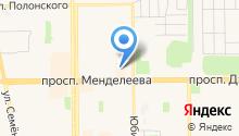 Котофеич на карте