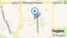 Центральная детская библиотека им. П.П. Ершова на карте