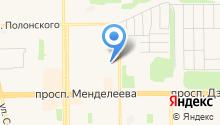 ТВЭЛ-Тобольск на карте