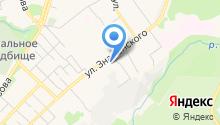 ТГСПА на карте