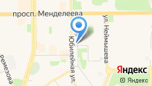 Точка печати на карте