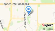 Следственный отдел по г. Тобольску на карте