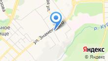 Компания пассажирских перевозок на карте