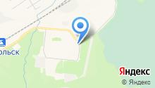 Почтовое отделение микрорайона Менделеево на карте