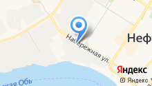 Транснефть–Сибирь на карте