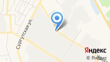 Триада-М на карте