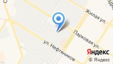 Управление капитального строительства и жилищно-коммунального комплекса Нефтеюганского района на карте