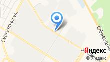 Нефтеюганский ветеринарный центр на карте