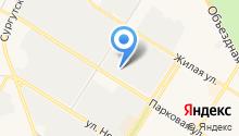 Югра-Автотранс на карте