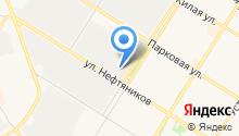 Военный комиссариат г. Нефтеюганска и Нефтеюганского района на карте