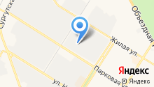 Спецовка на карте